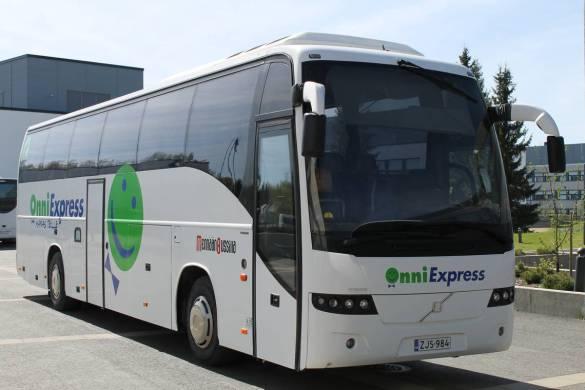 bussi Helsinkiin